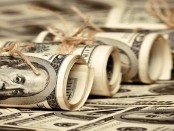 Rolls of $100 bills