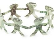 Dancing money men