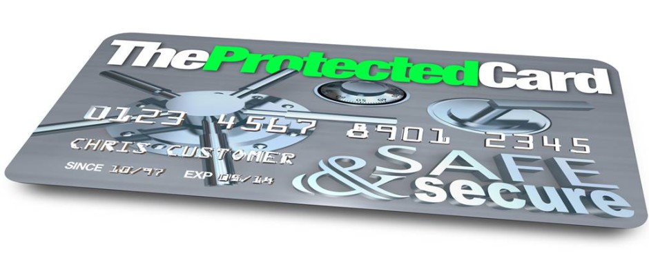 Protected credit card