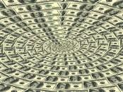Spiral dollar pattern