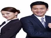 Smiling entreprenuers